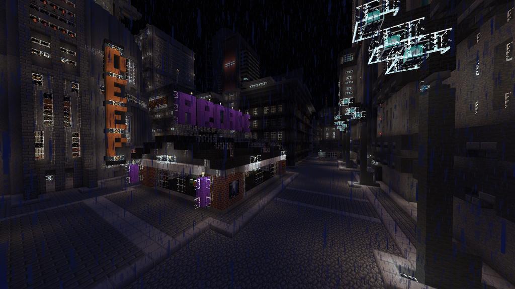 Minecraft Armaghast Deneb Drei 16 Minecraft Cyberpunk City Deviantart