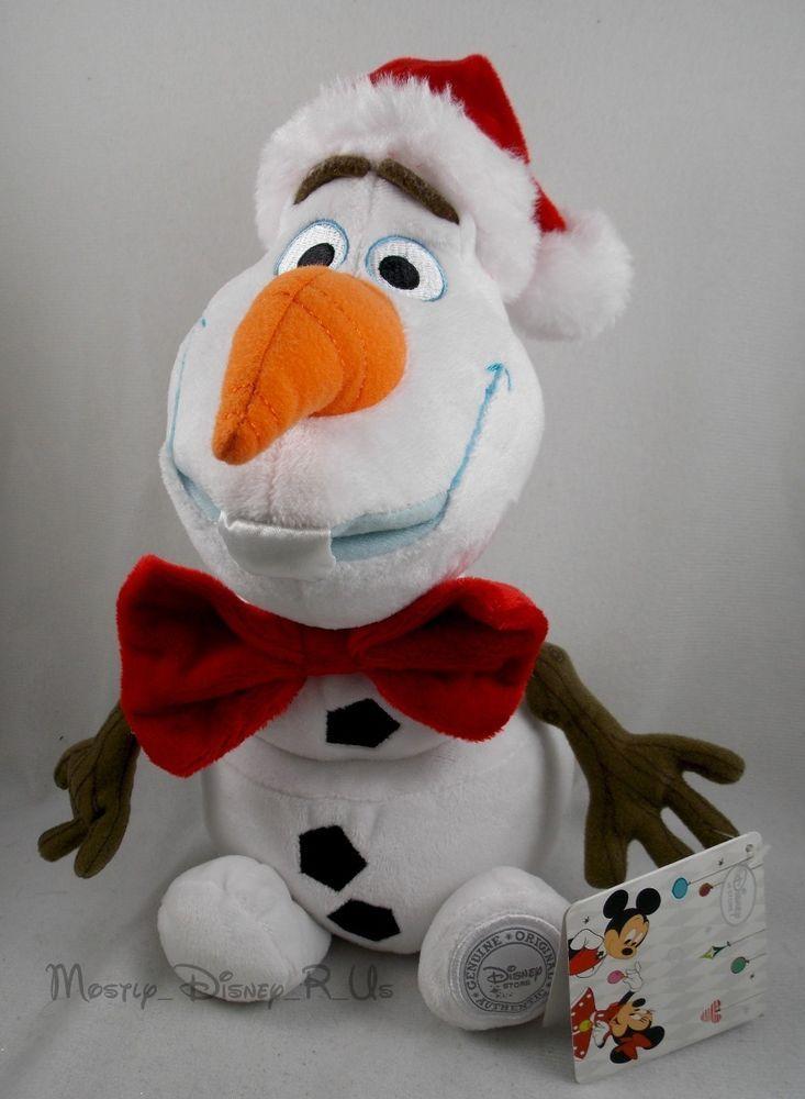 Disney Store Frozen Olaf Snowman Plush Mini Bean Bag Figure Doll Stuffed Toy NEW