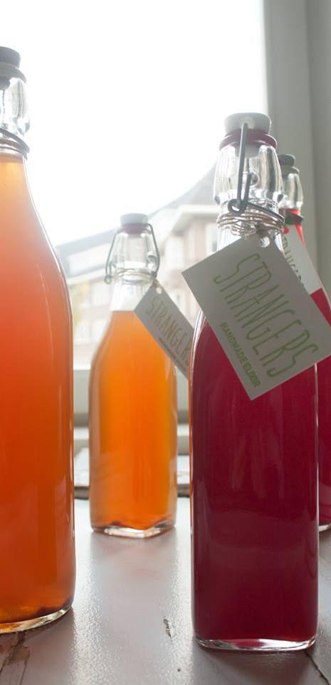 Strangers Elixirs | Atelier Eetlust Een scheutje Stranger Elixirs geeft uw drankje een vernieuwende spannende smaak sensatie.