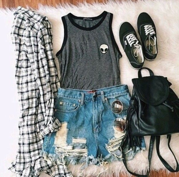 65e5b1aca0a4 grunge outfits tumblr summer - Google Search