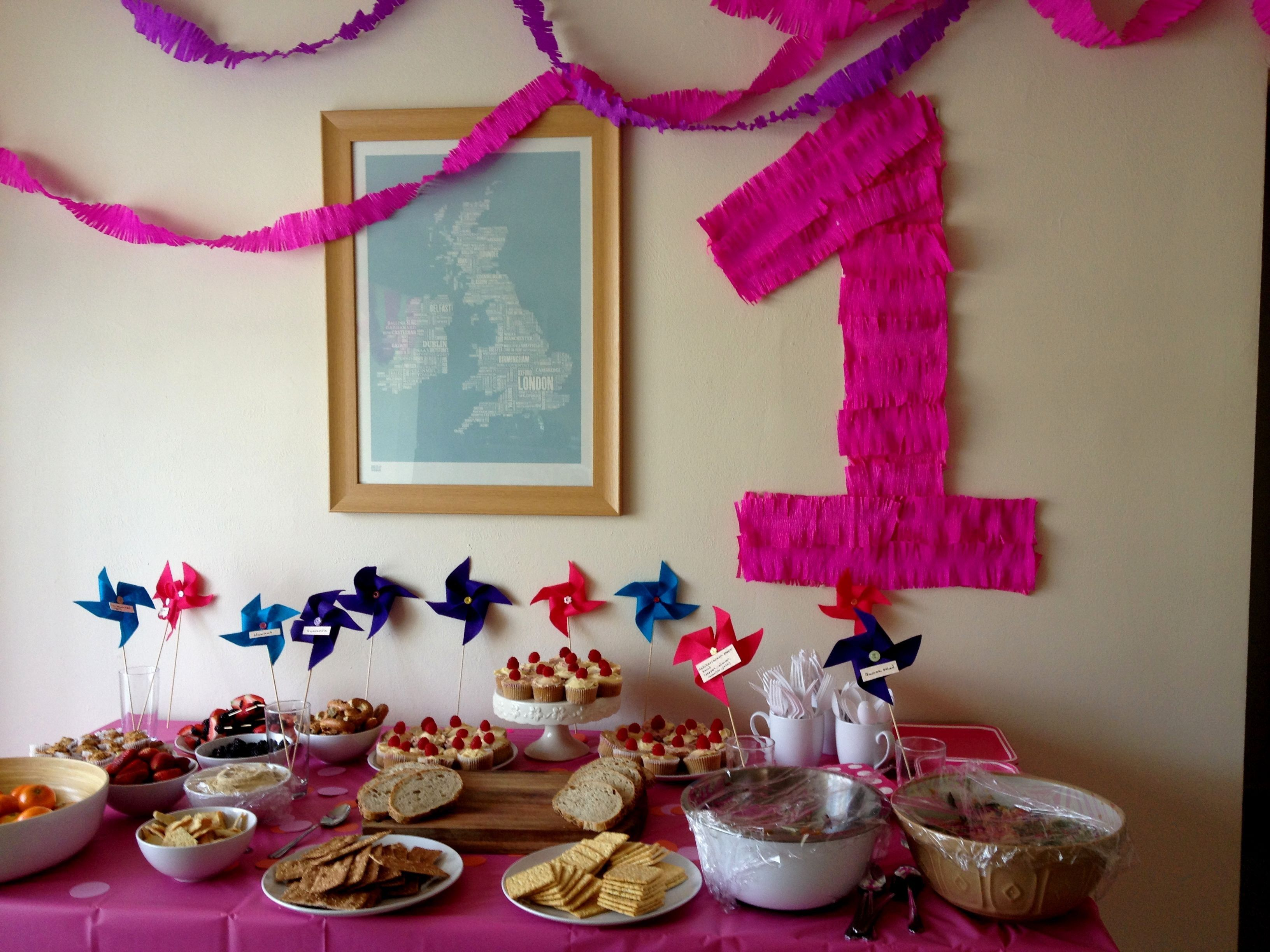 First Birthday Decoration Ideas At Home For Girl Fresh First