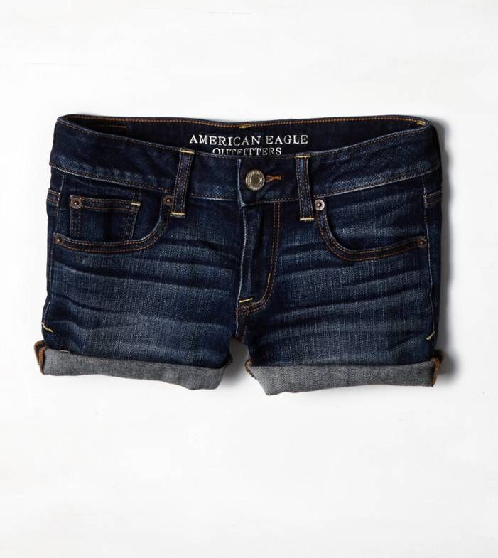e9d16437502 Navy Denim Shorts by American Eagle Outfitters. Buy for  39 from American  Eagle Outfitters