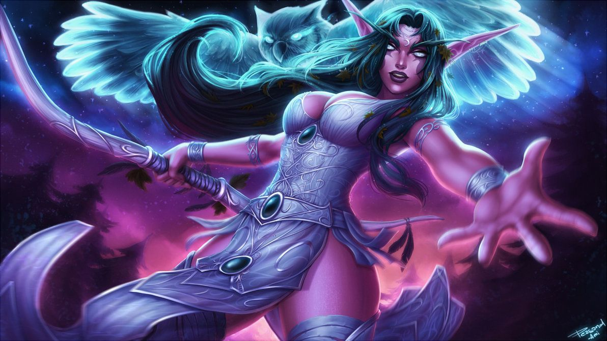 Tyrande Whisperwind By PersonalAmi On DeviantArt