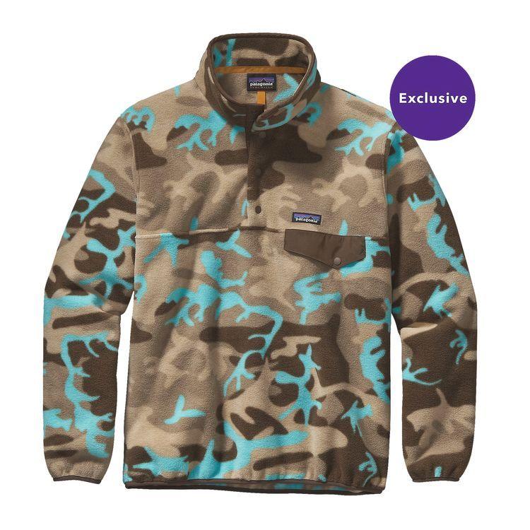 Men s Lightweight Synchilla® Snap-T® Fleece Pullover  e1c300b42e85