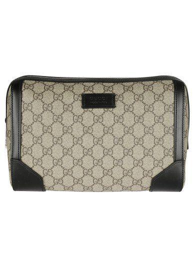 7935aa52bbc1 GUCCI Gucci Gg Supreme Toiletry Case. #gucci #bags #leather #lining #nylon