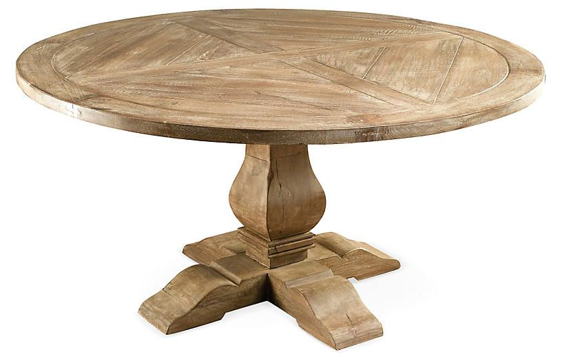 Clara Round Dining Table Weathered Sand Products In 2019