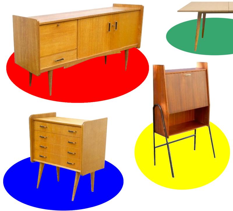 Meubles Vintage Scandinaves Meuble Vintage Mobilier De Salon Meuble Design