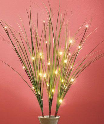 LED Lighted Branch Sets -- Grass