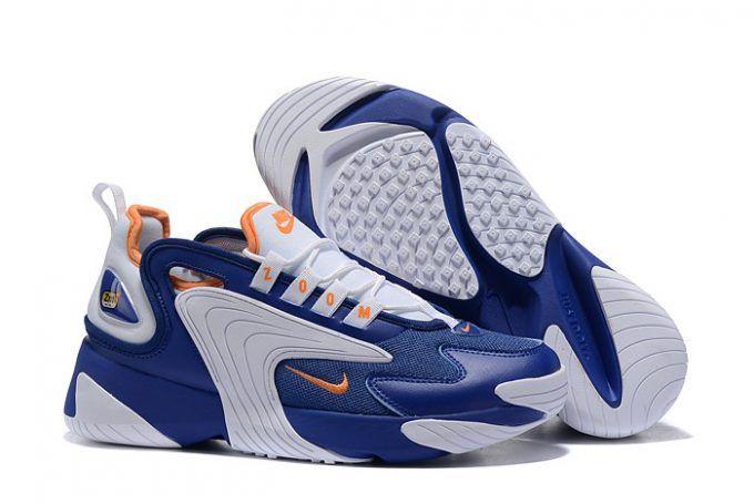 Nike Zoom 2K White/Royal Blue-Metallic