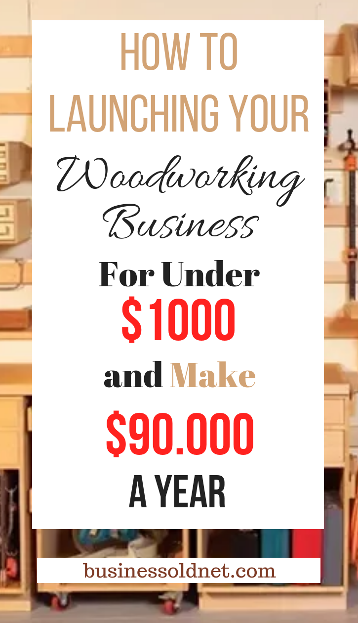 how to launching your woodworking business for under $1000