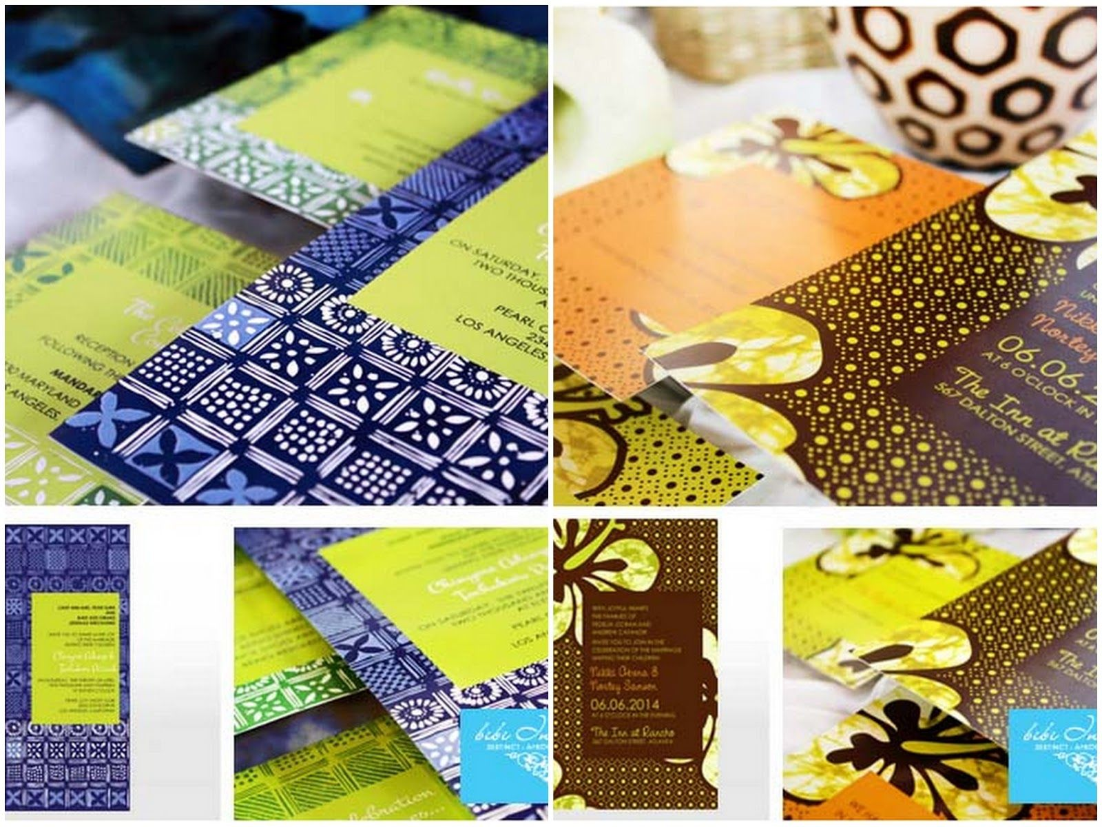 African Themed Wedding Invitations Bibi Giveaway Contest Knotsvilla