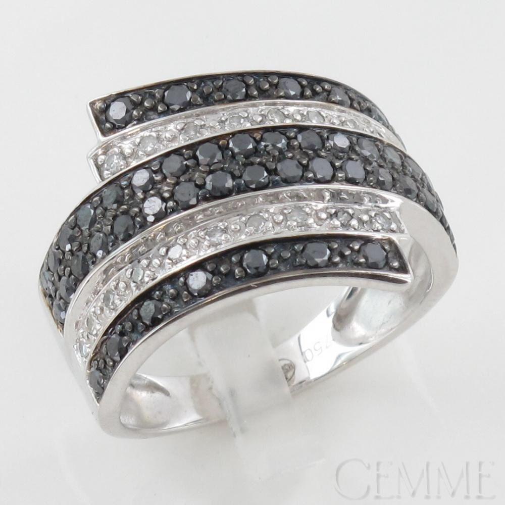 Bague or gris diamant pas cher