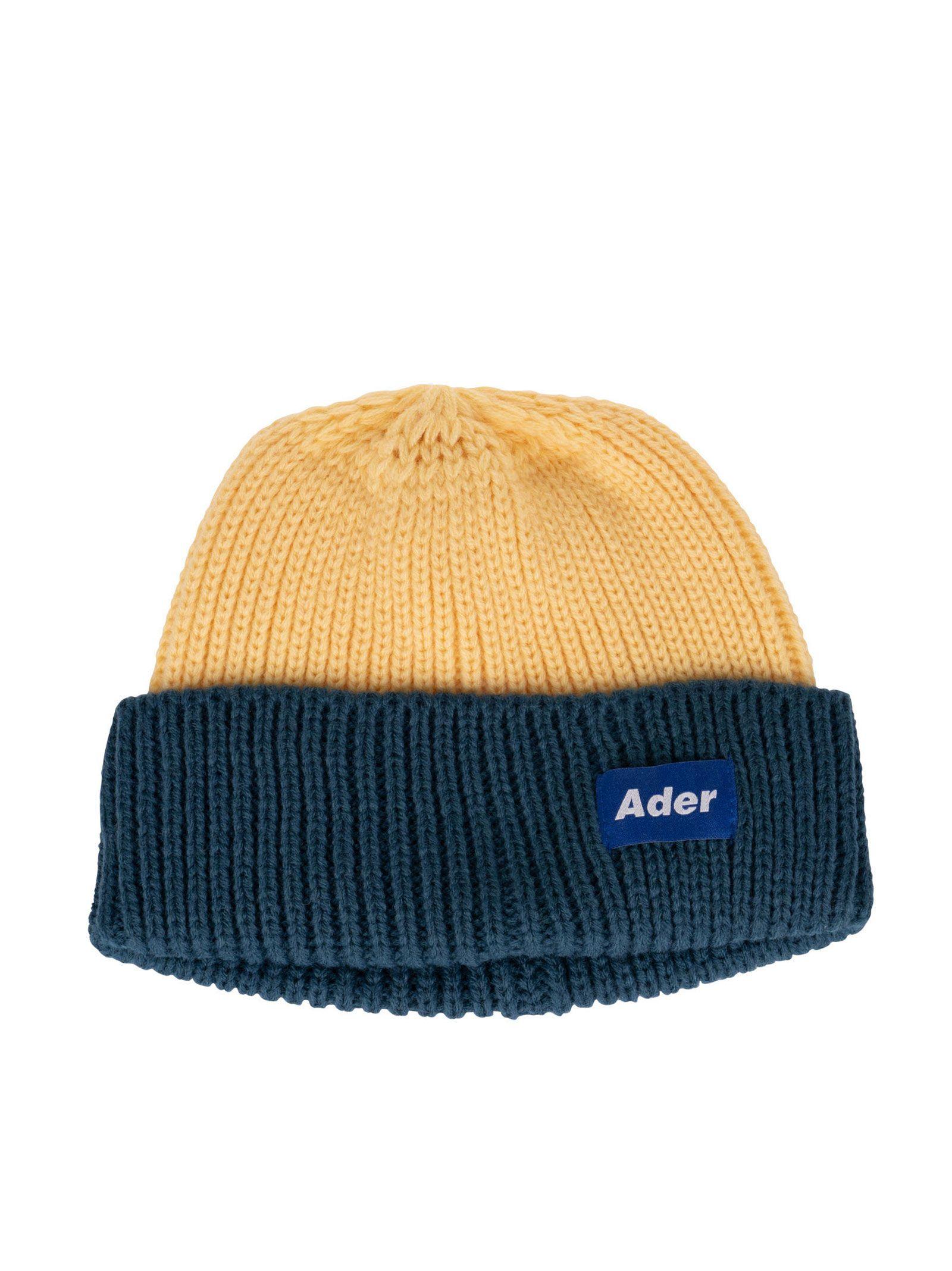 4853cedd7fa ADER ERROR 罗纹拼色毛线帽.  adererror