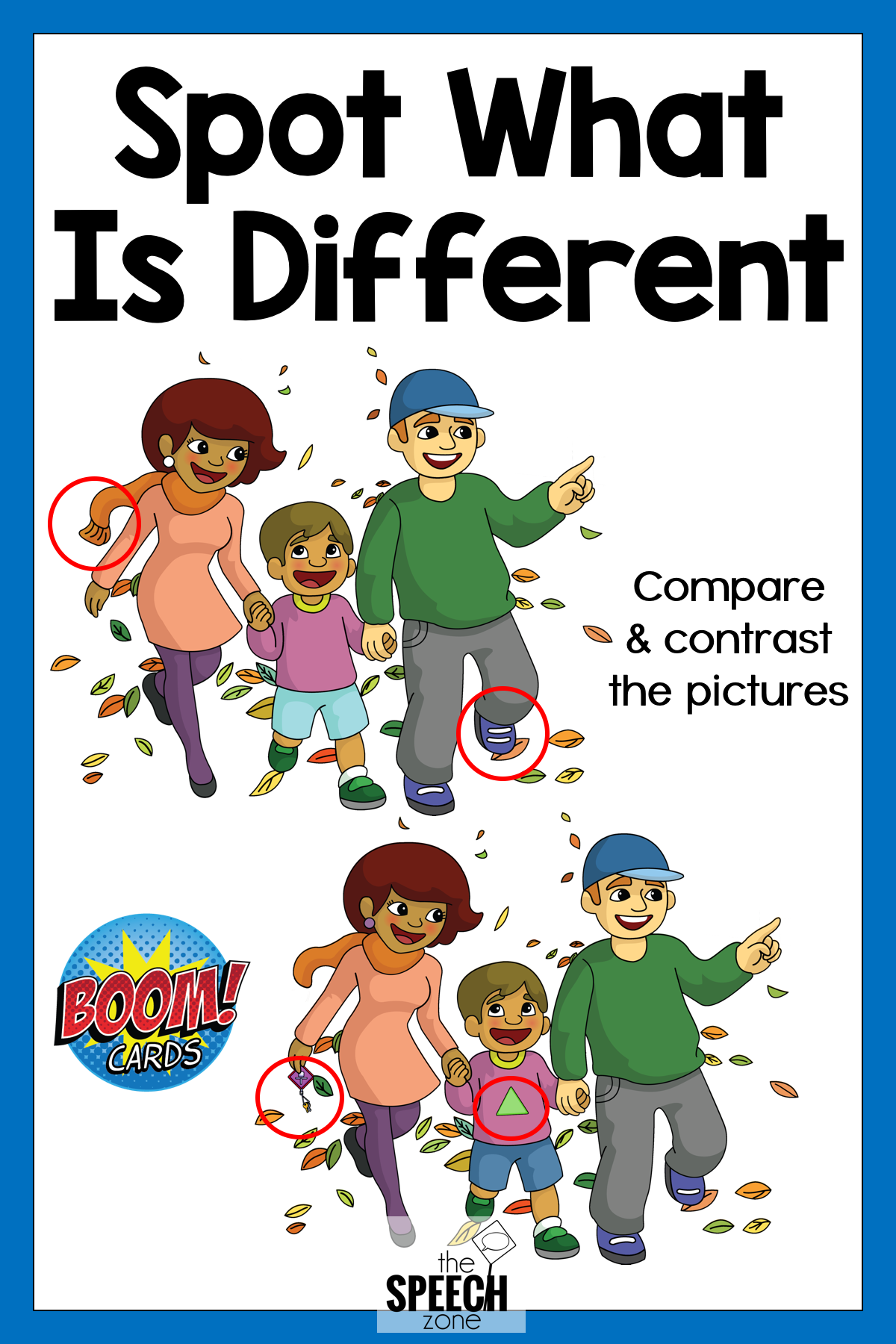 Boom Cards What S Different Compare And Contrast Digital
