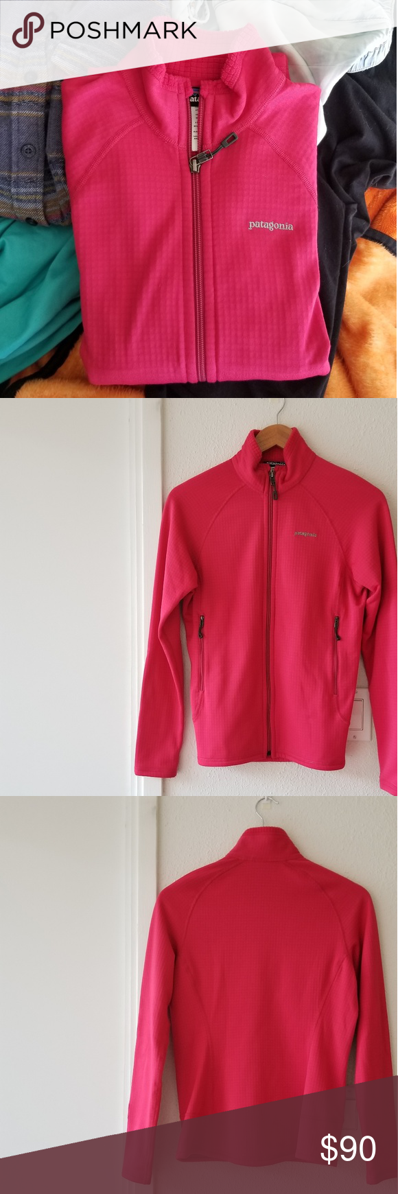 (C) patagonia • r1 full zip fleece pullover Fashion