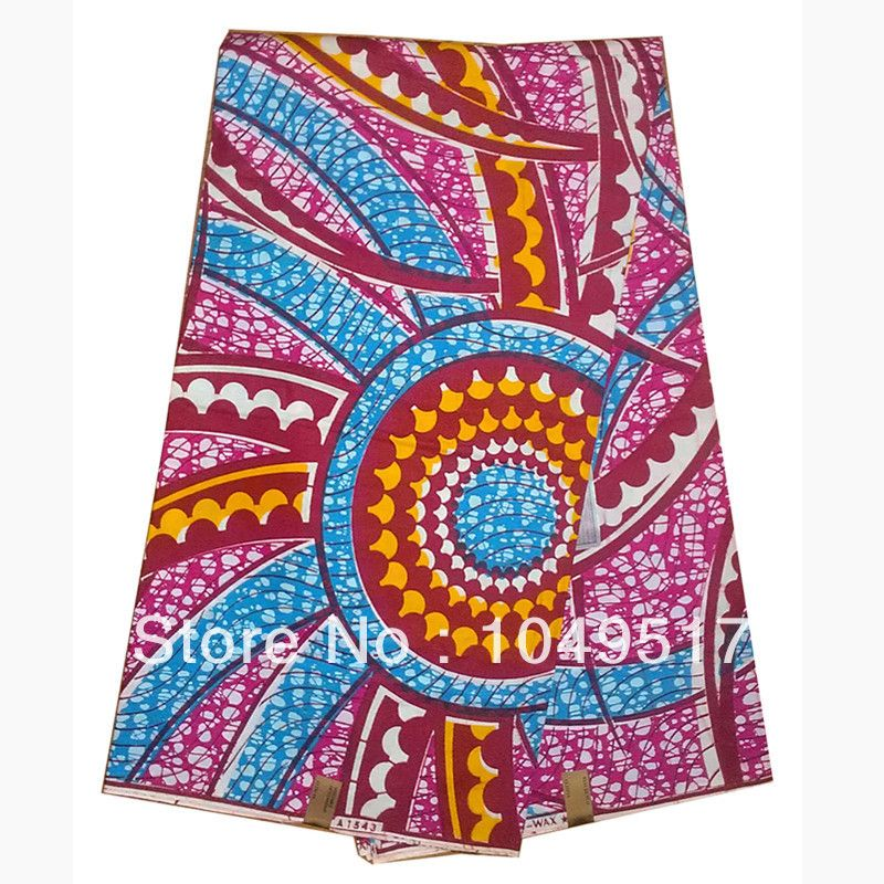 african textiles and fabrics   2014 Wholesale african real wax print cotton fabric cloth textile felt ...