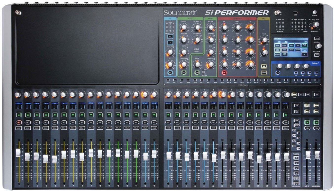 Soundcraft Si Performer 3 32 Channel Digital Audio Mixer Products
