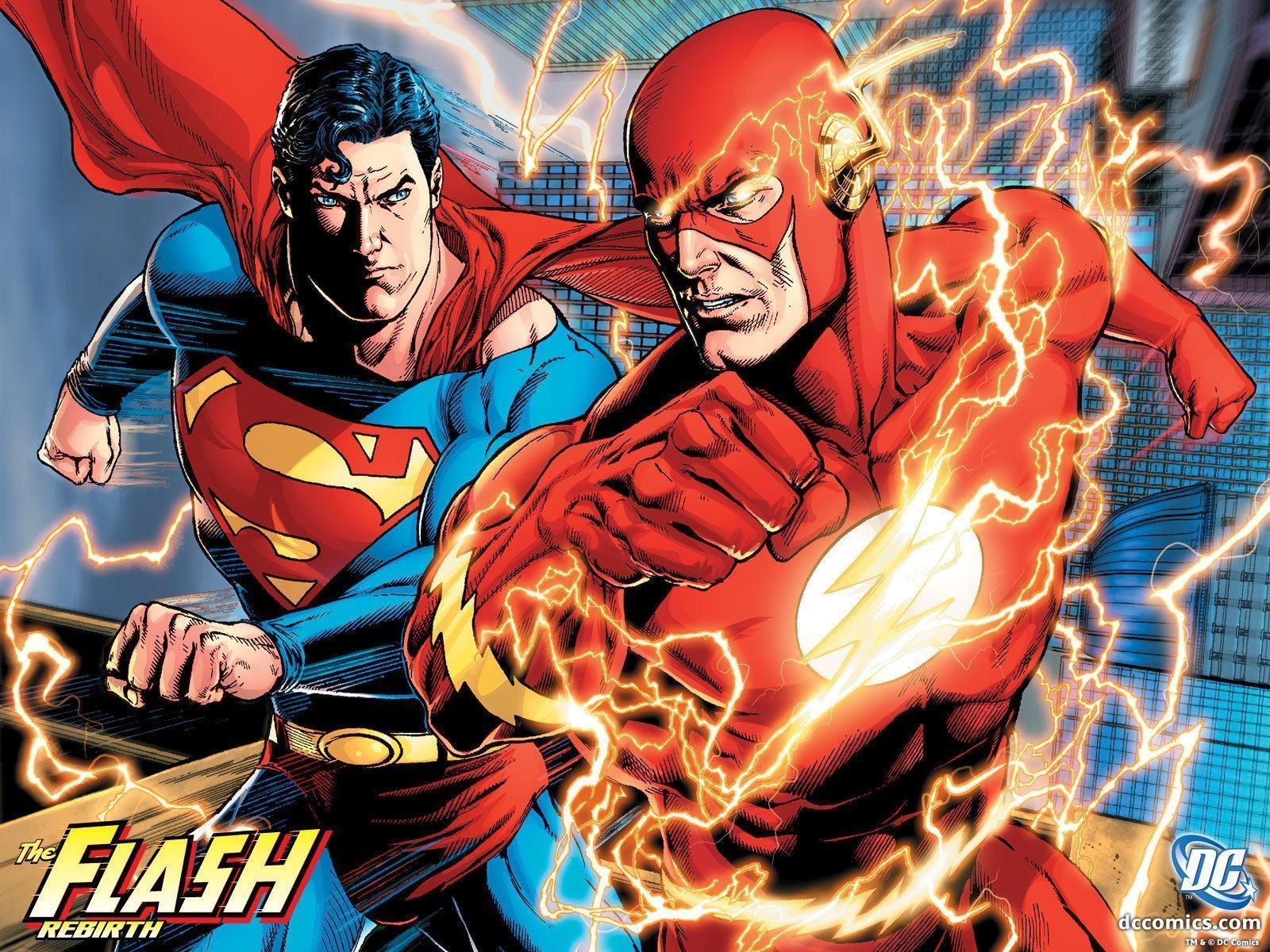 Flash Rebirth 3 Dc Comics Wallpaper 6637062 Fanpop Dc