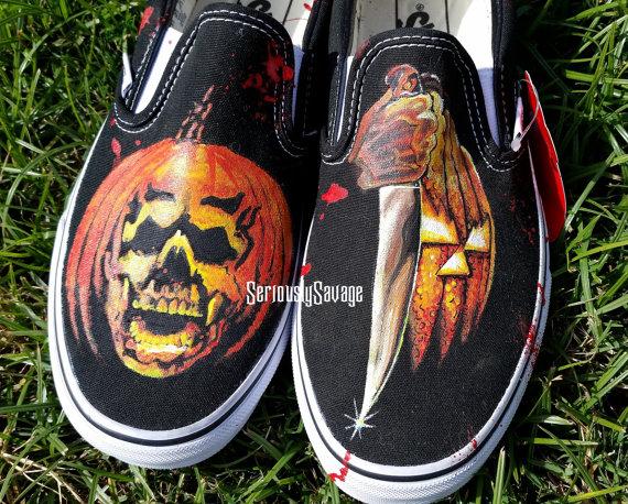 Halloween 4 Vans Michael Myers by viantart