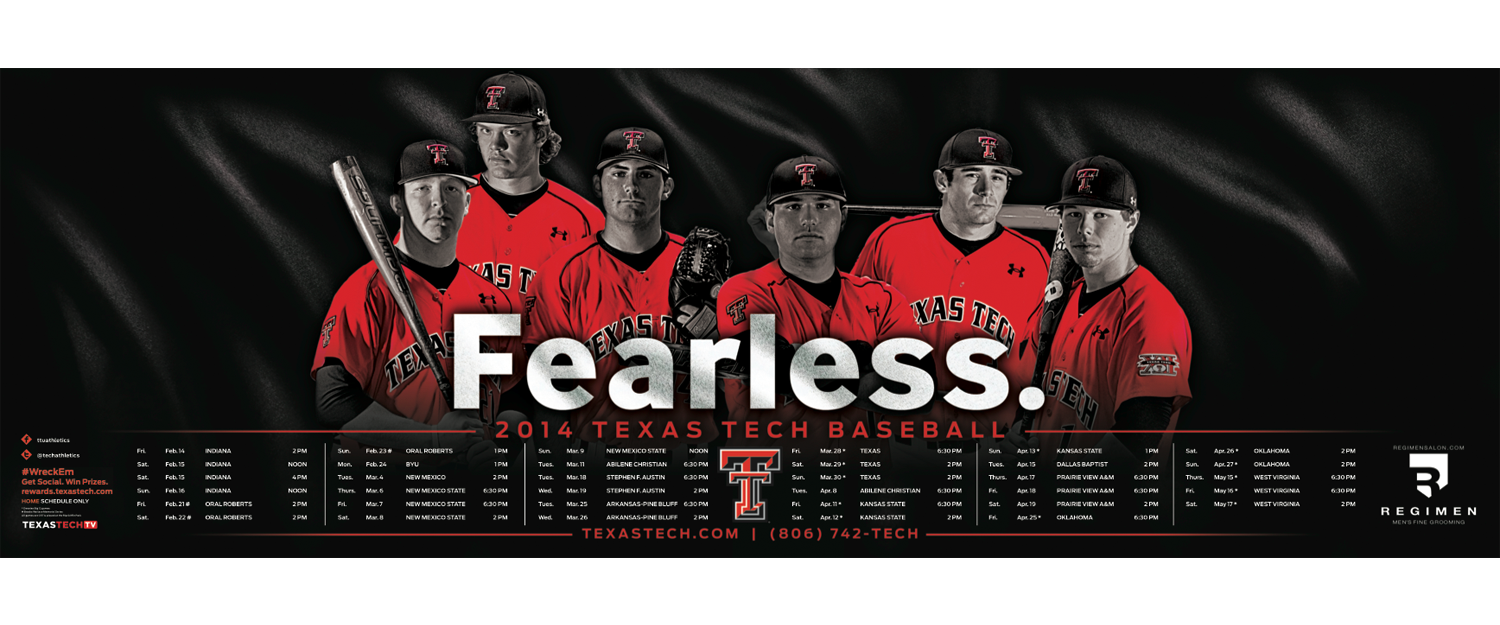 Pin by Brandon Kolditz on Baseball Posters Texas tech
