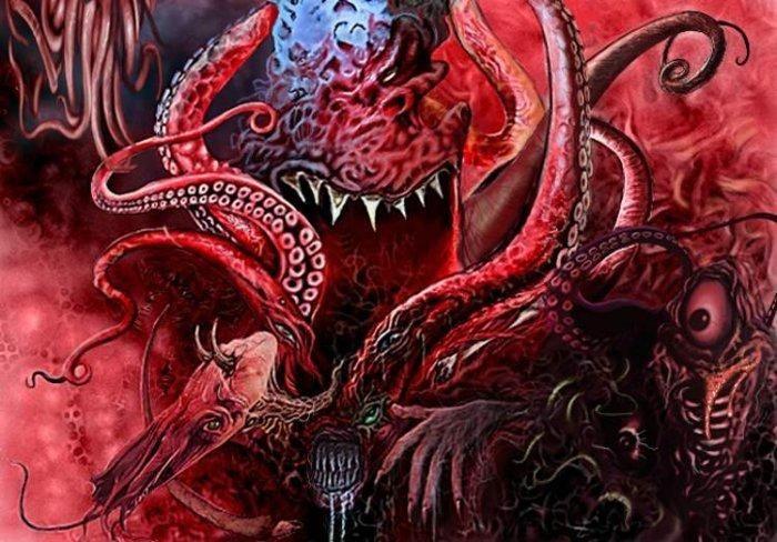 Azathoth Lovecraft Lovecraftian Horror Lovecraft Monsters