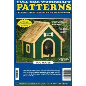 Dog House Plans And Patterns How To Build A Dog House Dog Houses