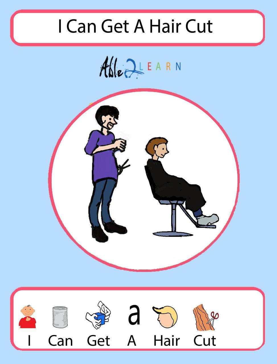 I Can Get A Haircut Boys Version Social Story Pages 12 Cau Chuyện Xa Hội