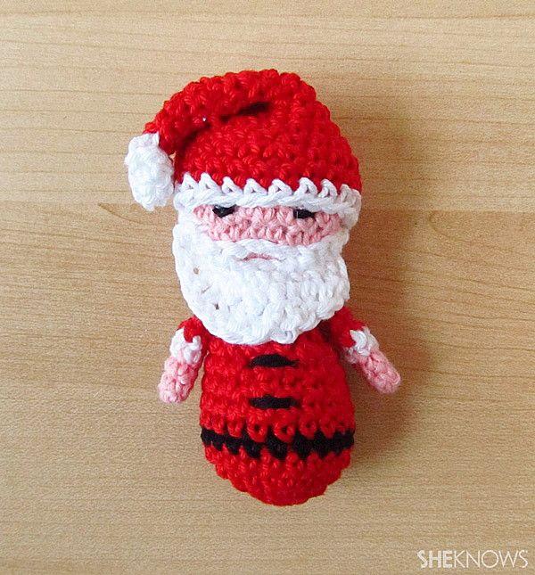 Amigurmi Santa & snowman Christmas ornaments | Crochet | Pinterest