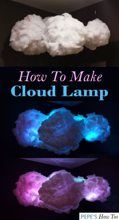 How To Make A Cloud Lamp – Pepe's How Tos