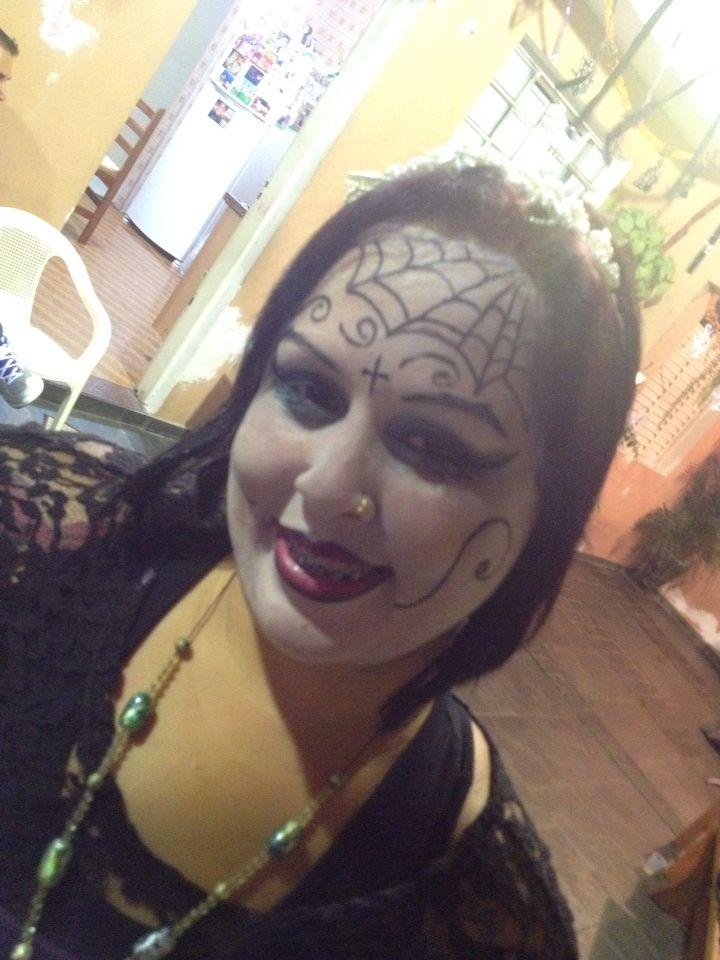Halloween. Maquiagem