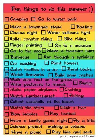 Que Faire Pendant Les Vacances D été : faire, pendant, vacances, été, Choses, Faire, Pendant, Vacances, Summer, List,, Activities