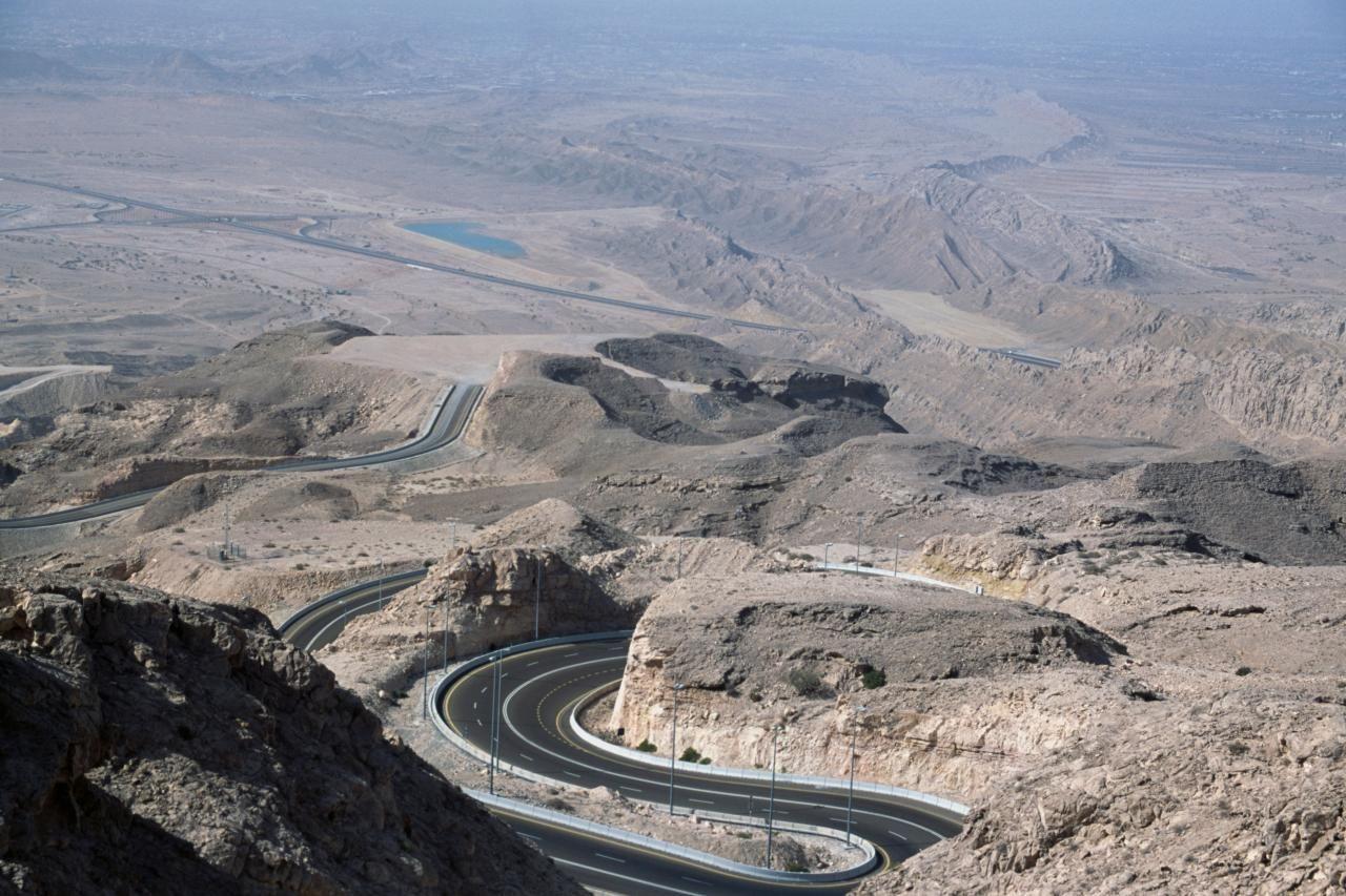Jebel Hafeet Mountain Road United Arab Emirates