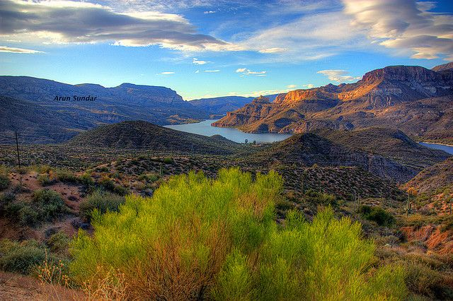 The drive along the Apache Trail in Arizona is fantastic and filled with beautiful photo ops.