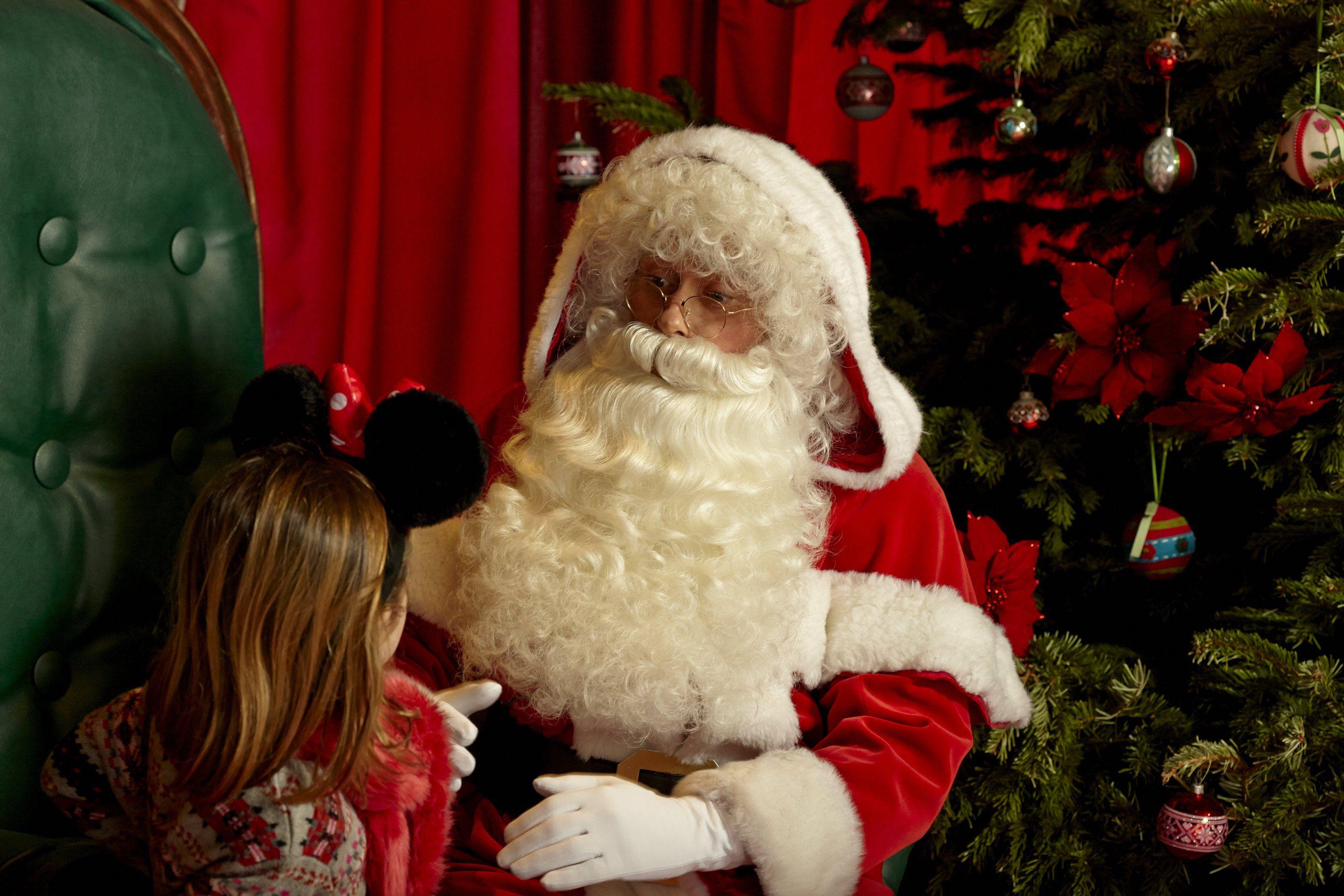 Meet Santa at Disneyland Paris