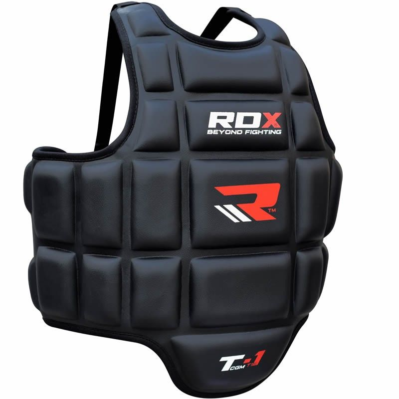 RDX Chest Guard MMA Training Kickboxing Boxing Protector Body Armour Sports Gyms