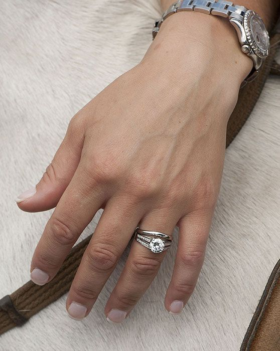 Zara Philips Engagement And Wedding Rings I M Very Much Mrs