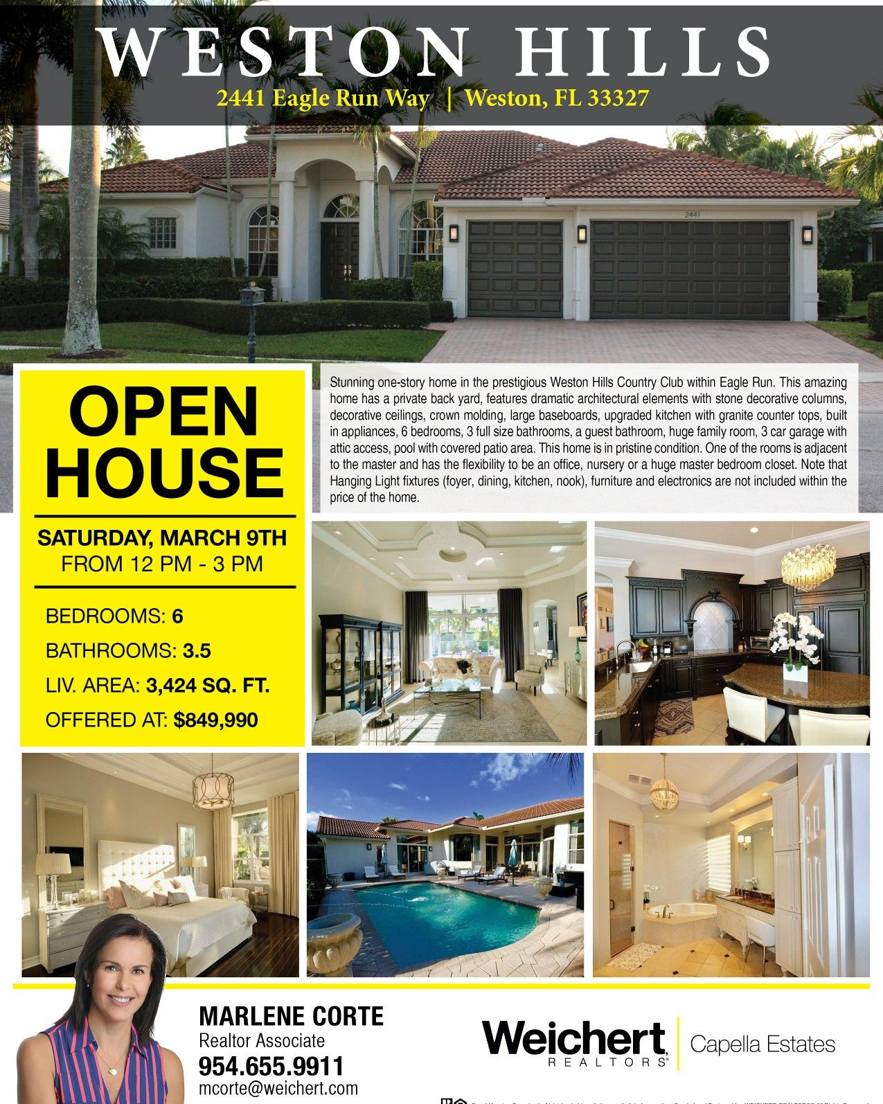 Pin on Homes For Sale in Weston, Fl.
