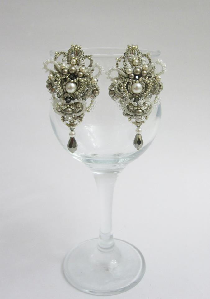 Frivolite earrings - MK Alla Vizir