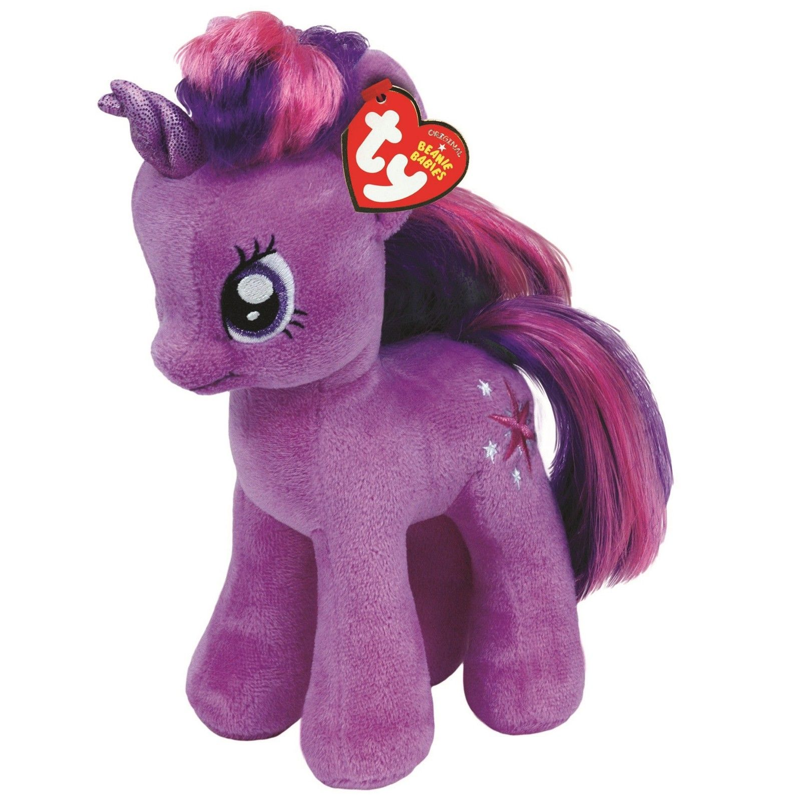 66143968bd7 £6.95 GBP - Ty Beanie Babies 41004 My Little Pony Twilight Sparkle Horse   ebay  Collectibles