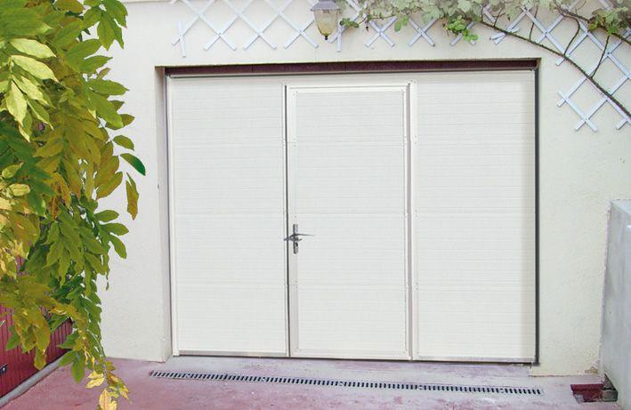 PORTE DE GARAGE SECTIONNELLE AVEC PORTILLON - PASS DOOR Porte de - dimensions porte d entree