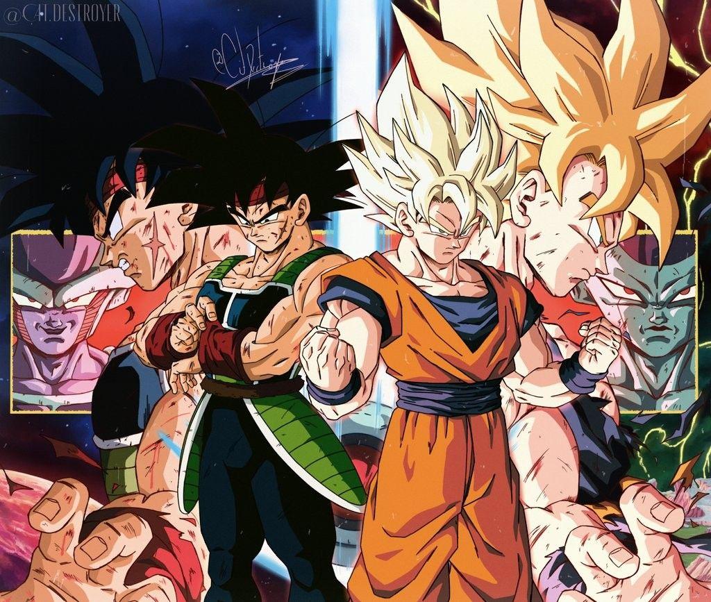Goku Bardock Y Freezer In 2020 Dragonball Z Dragon Ball Gt Zeichnung