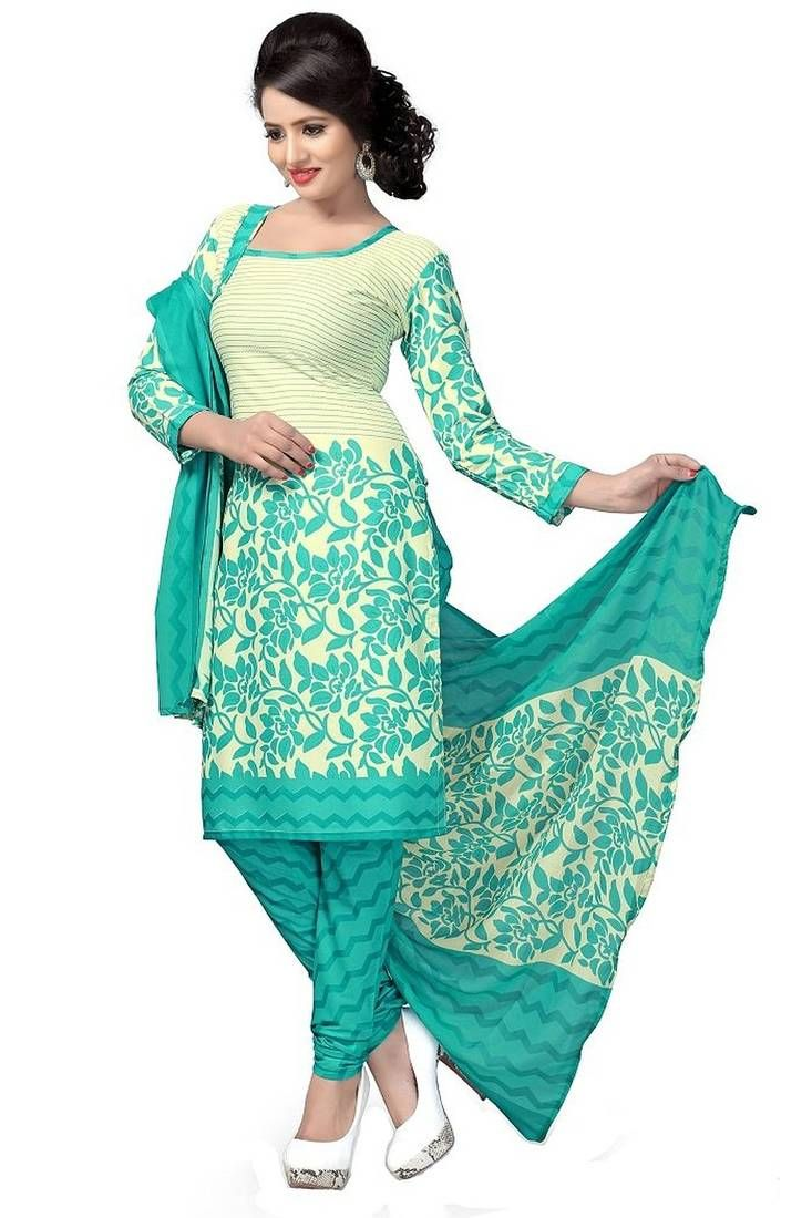Buy ladies party wear unstitched dress material online in India ...
