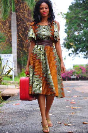 african dresses kitenge wear attire inspired africa styles prints casual latest ladies designs clothing short fashions ankara vestidos vestido clothes