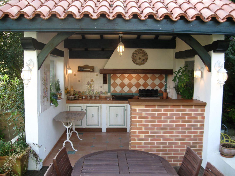 aménager une cuisine d'été: conseils et idées | barbecue, pergola ... - Amenager Une Cuisine Exterieure