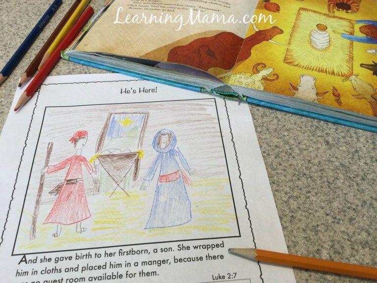 Jesus Storybook Bible Devotional Pages Printable Preschool