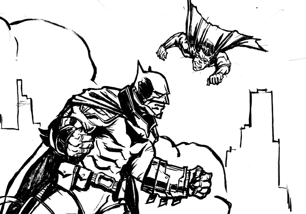 Batman Vs Superman Coloring Pages Educative Printable In 2020 Superman Coloring Pages Batman Vs Superman Batman Vs