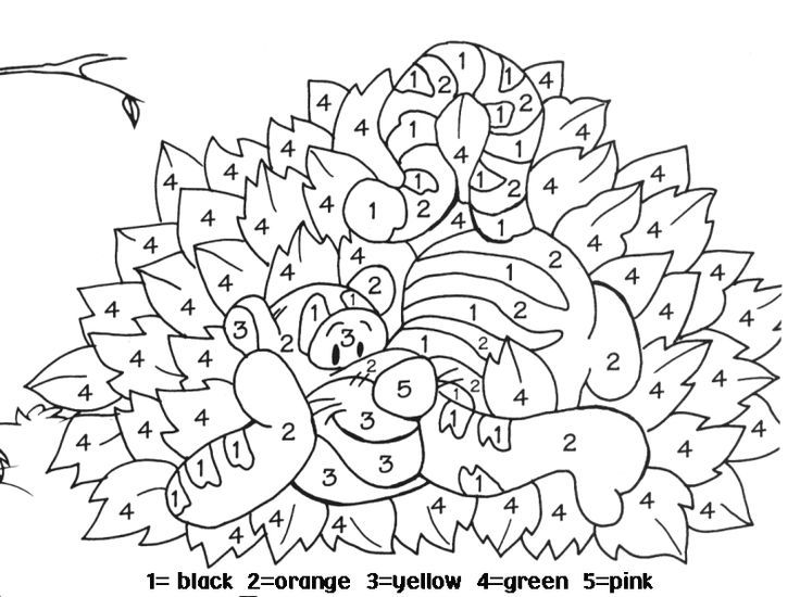 Coloring Books I Found Some Paint By Numbers That We Could Print Out For You Since