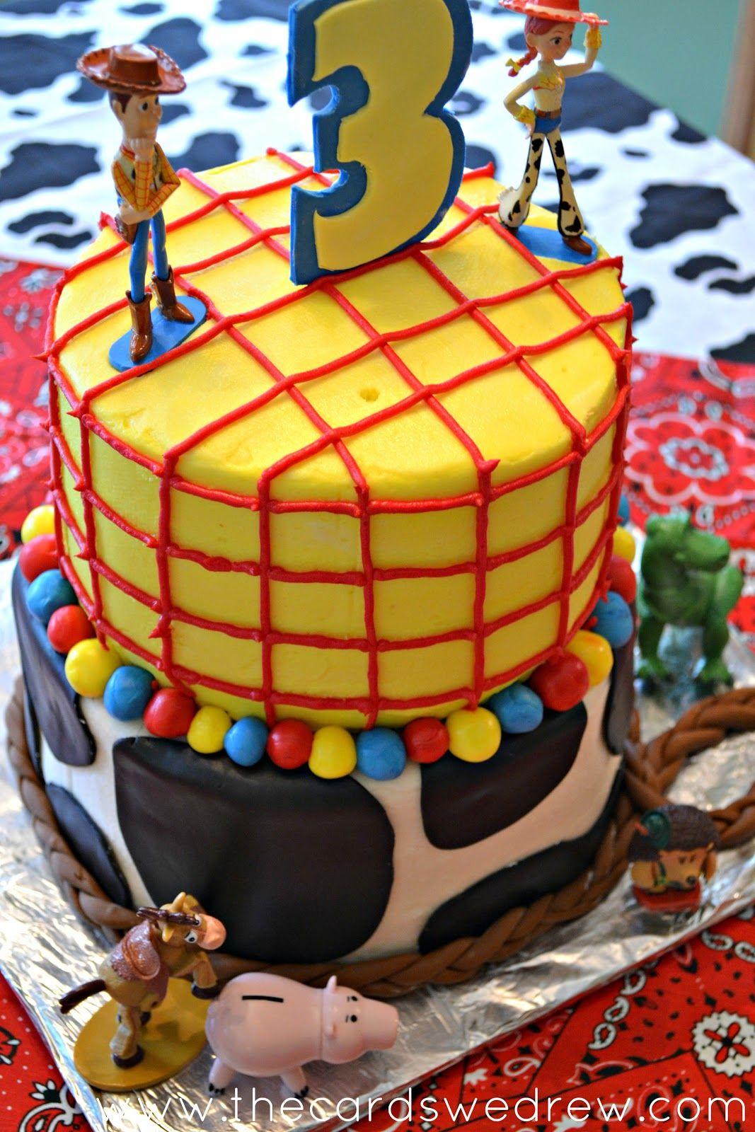 Las tarjetas que Drew: Mi Hijo Toy Story Fiesta de cumpleaños