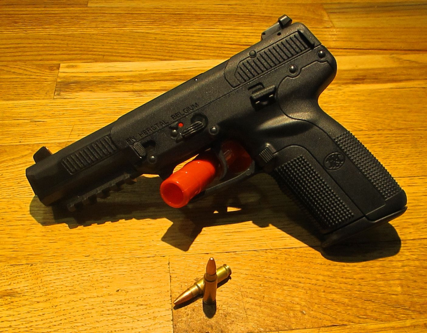 Try out this high capacity, low recoil pistol  Semi-Auto perfection