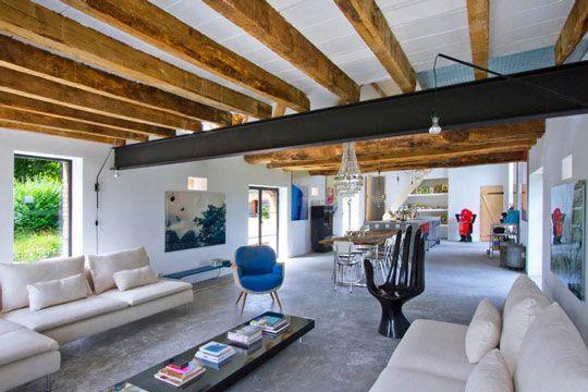 Come arredare un soggiorno moderno | Loft moderni, Case ...